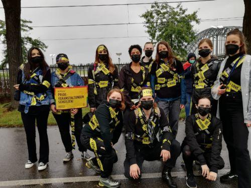 Gruppenbild beim CSD